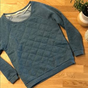 Alternative Apparel Quilted Fleece Sweatshirt
